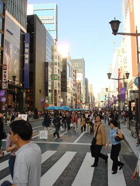 1. Ginza   thiên đường ăn chơi thời thượng của Tokyo