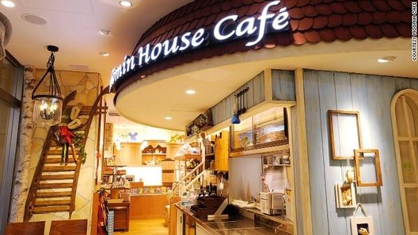 quan ca phe chong co don o nhat ban 1 Quán cà phê chống cô đơn ở Nhật Bản