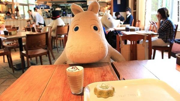 quan ca phe chong co don o nhat ban 5 Quán cà phê chống cô đơn ở Nhật Bản