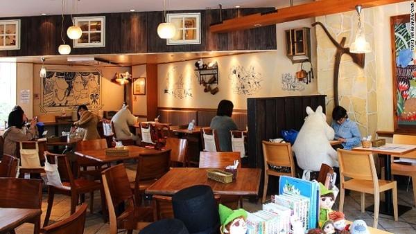 quan ca phe chong co don o nhat ban 6 Quán cà phê chống cô đơn ở Nhật Bản