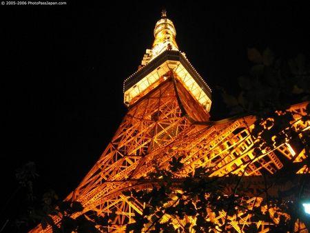 thaptokyo duhochoasen 1 Tháp Tokyo  biểu tượng của thành phố Tokyo Nhật Bản .