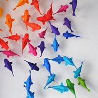 Độc đáo những tác phẩm Origami