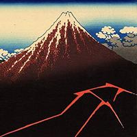 Núi phú sĩ (Fuji) và những câu chuyện viễn tưởng đầu tiên