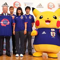 Pokemon- biểu tượng chính thức của Nhật Bản tại World Cup 2014