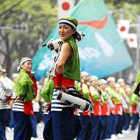 Yosakoi – Vũ điệu mùa hè sôi động