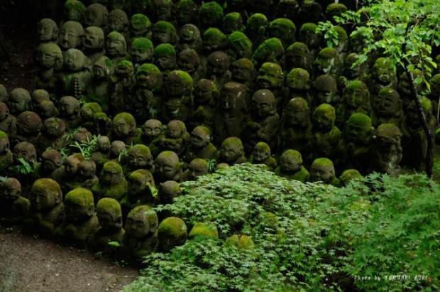 tuong da chua Otagi Nenbutsu Ji 9 Tượng đá hài hước ở ngôi chùa Otagi Nenbutsu Ji
