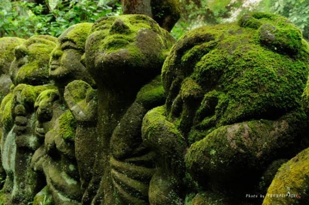 tuong da chua Otagi Nenbutsu Ji 7 Tượng đá hài hước ở ngôi chùa Otagi Nenbutsu Ji