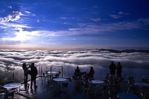 Dinh nui Unkai Terrace nhatban Vẻ đẹp trên đỉnh Unkai Terrace Nhật Bản